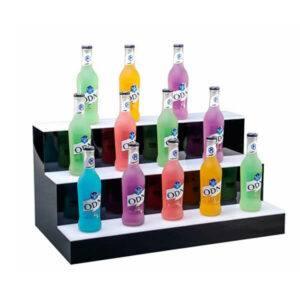 Wholesale 3 Tier Liquor Bottle Shelf