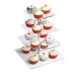 Wholesale Custom Acrylic Cake Stand
