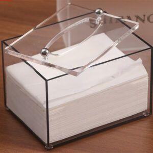 Custom Acrylic Napkin Holder, Acrylic Paper Towel Holder